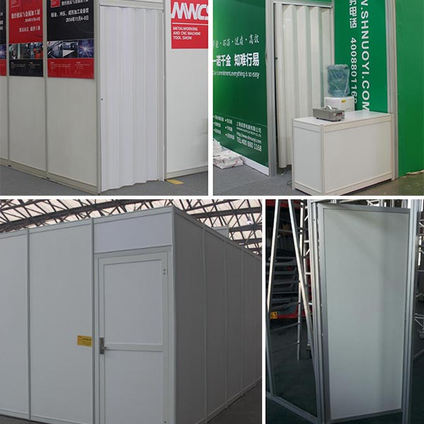 Choose a door for your exhibition stand
