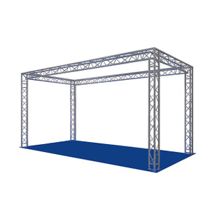 Spigot Aluminium 3x6 Truss Trade Show Booth