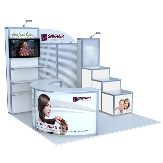 Portable Aluminum 10x10ft Exhibition Display Stand