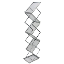 A4 Folding Aluminum Brochure Holder D-H001 for Sale