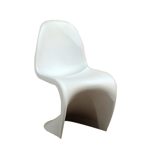 White Modern Portable Panton Chair