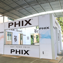 20'x20' Trade Show Frameless LED Light Box Exhibition Booth Design