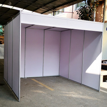 Octanorm Modular 3x3 Exhibition Booth with Roof