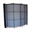 Aluminum Frame Curved Pop Up Stand with Spring