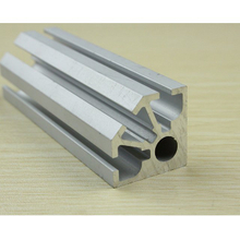 Octanorm 1/4 Aluminum 8 Way Upright Extrusion With Small Hole