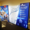 10'x20' Free Standing Trade Show Angle Backlit Wall for Exhibition