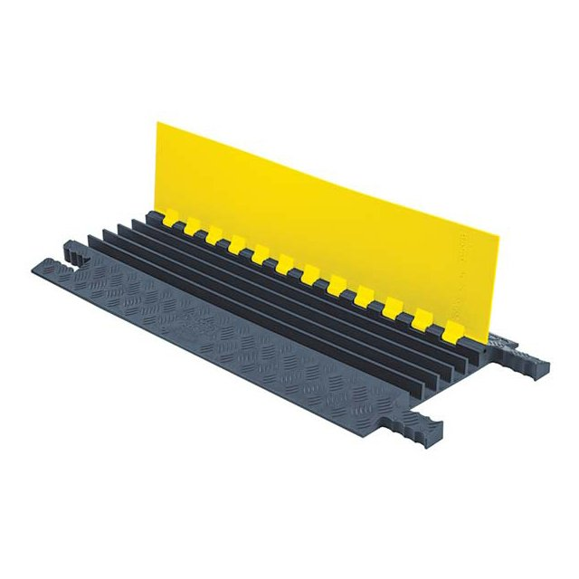 Rubber 2/3/4/5 Channels Cable Ramps/Protectors for Sale