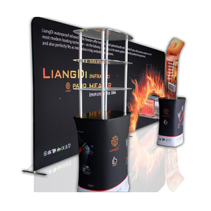 Aluminum Tube Tension Fabric Portable Trade Show Display