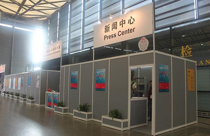 Modular Exhibition Stands Zone : Shell scheme booth application shanghai chleh exhibit industry ltd.