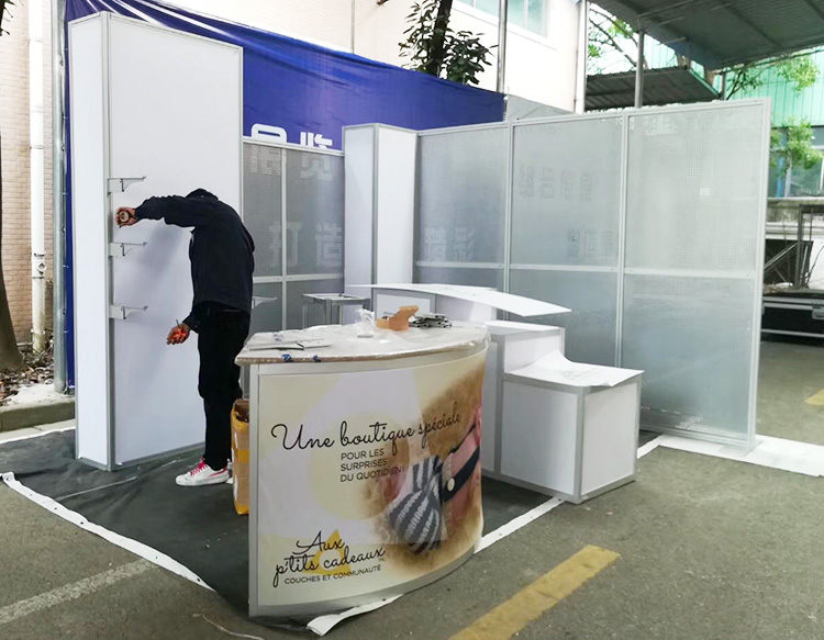 Display Stand For Exhibition : Portable aluminum ft exhibition display stand from china