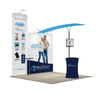 Trade Show Portable Exhibition Booth Display Backdrop Stands
