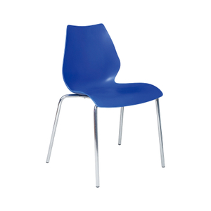 Blue Trade Show Modern Plastic Chair