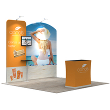 Custom Printed Portable 10 x10 Trade Show Booth Design