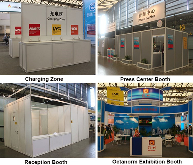 Modular Exhibition Stands Zone : Aluminum linked modular exhibition stand 3x3 from china manufacturer