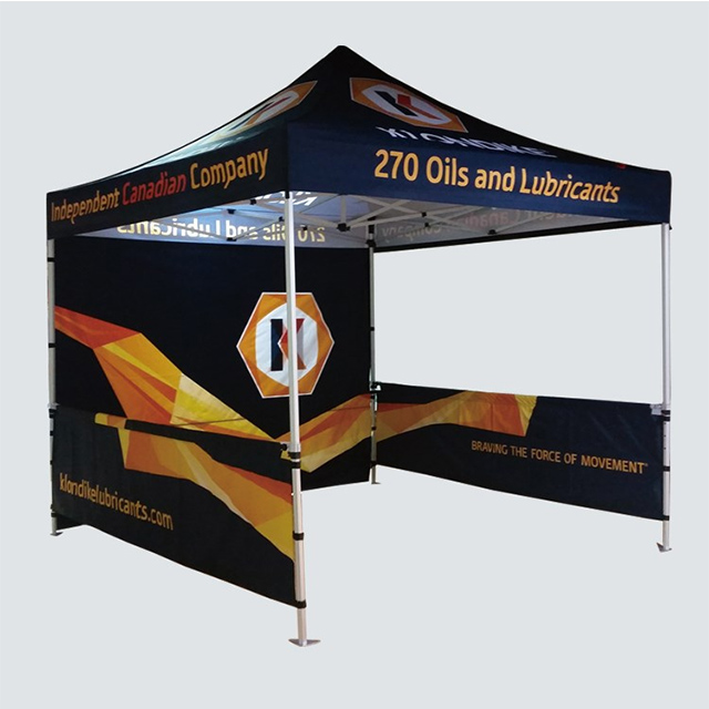 Custom Printed Aluminum Folding Portable Trade Show Pop Up Tent