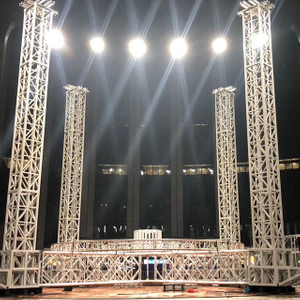 Custom Heavy Duty Spigot Aluminum Lighting Truss Structure for Expo