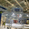 Coated Blue Bolted Aluminium Box Truss for Trade Show