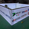 Aluminum Tension Fabric Led Illuminated Tradeshow Hanging Banner Display