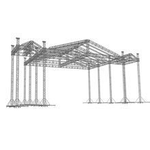 On Sale Large Music Festival Aluminum Concert Stage Roof Truss Structing