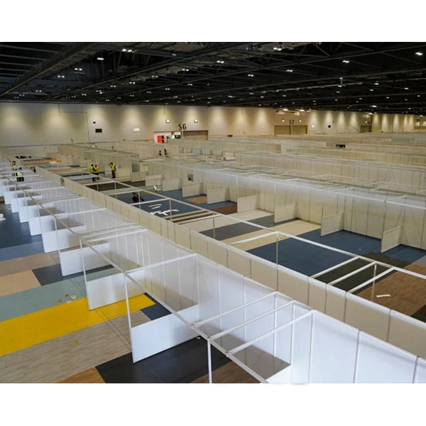 Portable 3x3 Square Mobile Modular Isolation Hospital Medical Quarantine Room